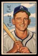 1952 Bowman #242 Everett Kell VG Very Good RC Rookie
