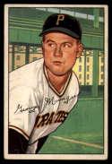 1952 Bowman #243 Red Munger VG Very Good