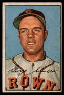 1952 Bowman #245 George Schmees VG Very Good RC Rookie