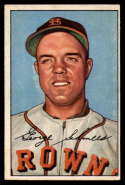 1952 Bowman #245 George Schmees VG/EX Very Good/Excellent RC Rookie