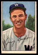 1952 Bowman #246 Jerry Snyder VG Very Good RC Rookie