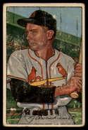 1952 Bowman #30 Red Schoendienst G Good