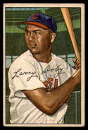 1952 Bowman #115 Larry Doby G Good