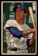 1952 Bowman #24 Carl Furillo VG/EX Very Good/Excellent