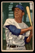 1952 Bowman #24 Carl Furillo G/VG Good/Very Good