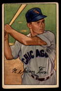 1952 Bowman #21 Nellie Fox VG Very Good