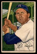 1952 Bowman #80 Gil Hodges VG Very Good