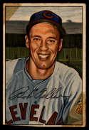 1952 Bowman #43 Bob Feller tape