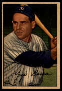 1952 Bowman #1 Yogi Berra VG Very Good
