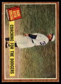 1962 Topps #142 Babe Ruth Coaching for the Dodgers VG Very Good