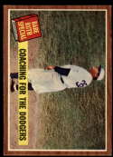 1962 Topps #142 Babe Ruth Coaching for the Dodgers NM Near Mint