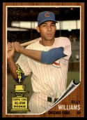 1962 Topps #288 Billy Williams NM Near Mint paper loss on back