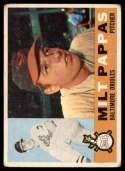 1960 Topps #12 Milt Pappas VG Very Good