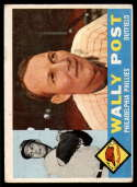 1960 Topps #13 Wally Post VG Very Good