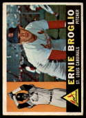 1960 Topps #16 Ernie Broglio VG Very Good