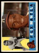 1960 Topps #19 Felix Mantilla VG Very Good