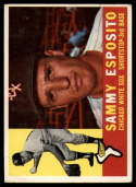 1960 Topps #31 Sammy Esposito VG Very Good