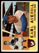 1960 Topps #39 Earl Averill Jr. VG Very Good