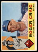 1960 Topps #62 Roger Craig VG Very Good