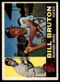 1960 Topps #37 Bill Bruton VG/EX Very Good/Excellent