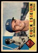 1960 Topps #166 Chuck Essegian EX Excellent
