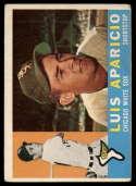 1960 Topps #240 Luis Aparicio VG Very Good