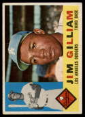 1960 Topps #255 Jim Gilliam VG Very Good