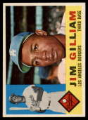 1960 Topps #255 Jim Gilliam EX/NM