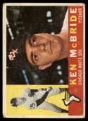 1960 Topps #276 Ken McBride G Good RC Rookie