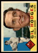1960 Topps #295 Gil Hodges VG/EX Very Good/Excellent
