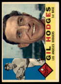 1960 Topps #295 Gil Hodges EX Excellent