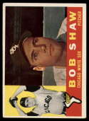 1960 Topps #380 Bob Shaw EX Excellent white back