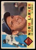 1960 Topps #394 Norm Larker VG Very Good white back