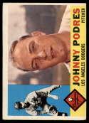 1960 Topps #425 Johnny Podres VG Very Good white back