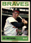 1964 Topps #35 Eddie Mathews tape