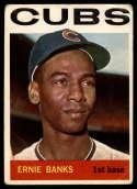 1964 Topps #55 Ernie Banks G/VG Good/Very Good