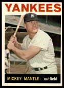 1964 Topps #50 Mickey Mantle EX Excellent
