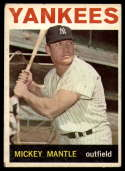 1964 Topps #50 Mickey Mantle VG Very Good