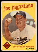 1959 Topps #16 Joe Pignatano VG Very Good