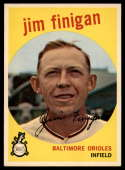 1959 Topps #47 Jim Finigan VG/EX Very Good/Excellent