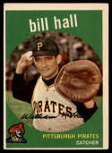 1959 Topps #49 Bill Hall VG/EX Very Good/Excellent RC Rookie