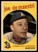 1959 Topps #64 Joe DeMaestri VG/EX Very Good/Excellent