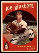 1959 Topps #66 Joe Ginsberg VG Very Good