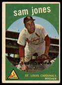 1959 Topps #75 Sam Jones VG/EX Very Good/Excellent
