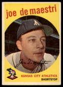 1959 Topps #64 Joe DeMaestri VG Very Good