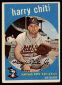 1959 Topps #79 Harry Chiti VG/EX Very Good/Excellent