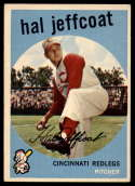 1959 Topps #81 Hal Jeffcoat VG Very Good
