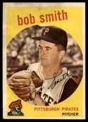 1959 Topps #83 Bob Smith UER VG Very Good
