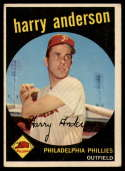1959 Topps #85 Harry Anderson VG Very Good