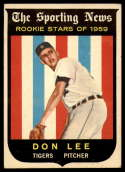 1959 Topps #132 Don Lee VG/EX Very Good/Excellent white back